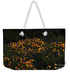 A Day Among The Lupines And Poppies Weekender Tote Bag