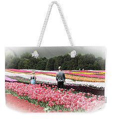 A Day Amongst The Tulips Weekender Tote Bag
