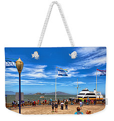 Weekender Tote Bag featuring the photograph A Day At Pier 39 by John M Bailey