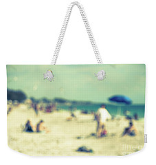 Weekender Tote Bag featuring the photograph a day at the beach I by Hannes Cmarits