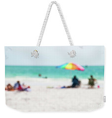 a day at the beach IV Weekender Tote Bag