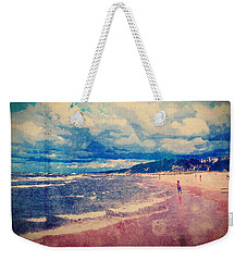 Weekender Tote Bag featuring the photograph A Day At The Beach by Phil Perkins