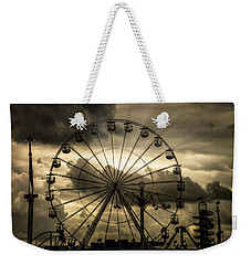 Weekender Tote Bag featuring the photograph A Day At The Fair by Chris Lord
