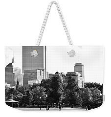 Weekender Tote Bag featuring the photograph A Day At The Park by Corinne Rhode