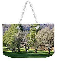 A Day For Golf  Weekender Tote Bag by Dennis Baswell