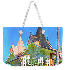 Weekender Tote Bag featuring the photograph A Day In Adventureland by Mark Andrew Thomas