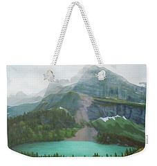 A Day In Glacier National Park Weekender Tote Bag