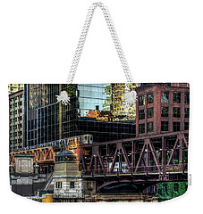 A Day In The City Weekender Tote Bag