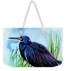 A Day In The Marsh Weekender Tote Bag by Cyndy Doty