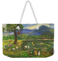 A Day In The Park - 1a Weekender Tote Bag