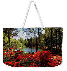 A Day In The Park Weekender Tote Bag by James C Thomas