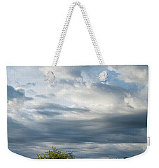 Weekender Tote Bag featuring the photograph A Day In The Prairie by Iris Greenwell