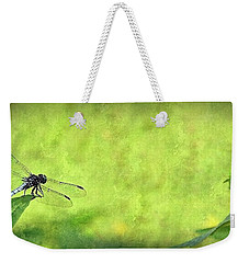 Weekender Tote Bag featuring the photograph A Day In The Swamp by Mark Fuller