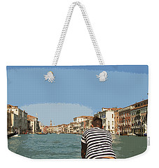 A Day In Venice Weekender Tote Bag