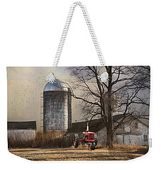 Weekender Tote Bag featuring the photograph A Day Off by Robin-lee Vieira
