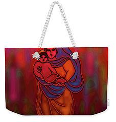 Weekender Tote Bag featuring the digital art A December Dream by Latha Gokuldas Panicker