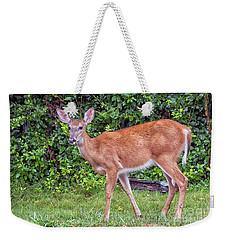 A Deer Young Lady Weekender Tote Bag