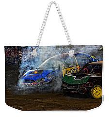 A Demo Fire Weekender Tote Bag