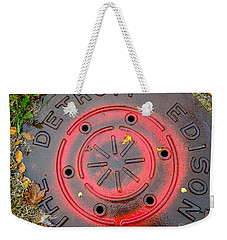 A Detroit Thing Weekender Tote Bag by Sandra Church