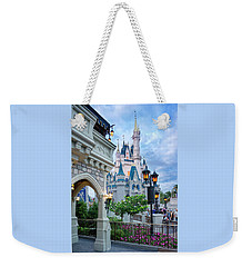 Weekender Tote Bag featuring the photograph A Different Angle by Greg Fortier