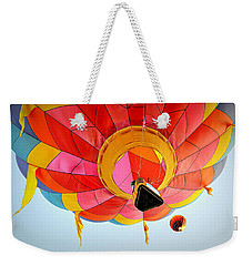 Weekender Tote Bag featuring the photograph A Different Point Of View  by AJ Schibig