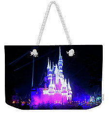 Weekender Tote Bag featuring the photograph A Disney New Year by Mark Andrew Thomas