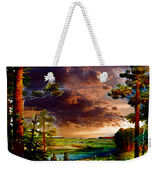 A Distant View Weekender Tote Bag