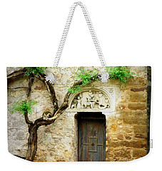 A Door In The Cloister Weekender Tote Bag by Lainie Wrightson