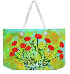 A Dozen Of Red Roses For You Weekender Tote Bag