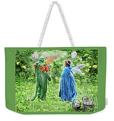 A Dragon Confides In A Fairy Weekender Tote Bag