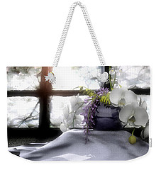 A Dream Of Orchids Weekender Tote Bag by Cynthia Decker