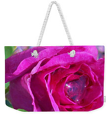 A Drop Of Love  2  Weekender Tote Bag