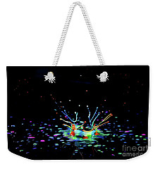 A Drop That Is A Crown Weekender Tote Bag