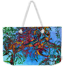 A Fabric Of Illusion Weekender Tote Bag by Roselynne Broussard