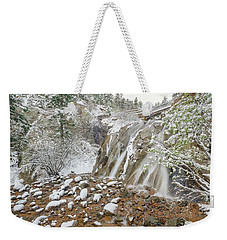A Factitious Bridge In A Natural Environment  Weekender Tote Bag