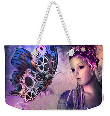 A Fairy Butterfly Kiss Weekender Tote Bag