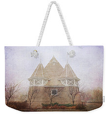 Weekender Tote Bag featuring the photograph A Fairytale Fog by Heidi Hermes