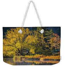 A Fall Day  Weekender Tote Bag