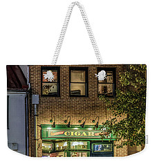 A Family Story Weekender Tote Bag by Rob Sellers