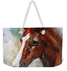 A Family's First Horse Weekender Tote Bag