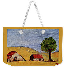 A Farm In California Winecountry Weekender Tote Bag