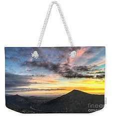 A Feeling Of The Presence Of God - Digital Painting Weekender Tote Bag