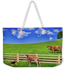 A Field Weekender Tote Bag