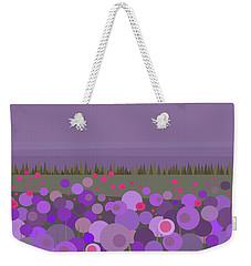 A Field Of Purple Weekender Tote Bag