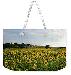 A Field Of Sunflowers Weekender Tote Bag