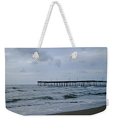 A Fishing Pier At Dawn Weekender Tote Bag
