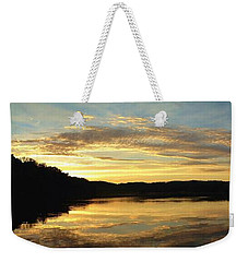 A Fitting End Weekender Tote Bag by Bruce Bley
