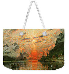 A Fjord Weekender Tote Bag by Adelsteen Normann