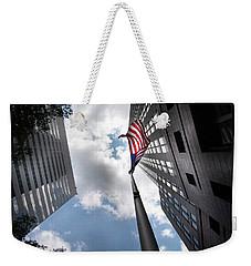 A Flag In Charlotte Weekender Tote Bag