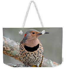 A Flicker Of Sunshine In Winter Weekender Tote Bag by Amy Porter